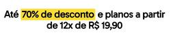 Promoção de Descomplica no folheto de São Paulo