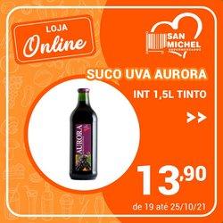 Ofertas de San Michel Supermercados no catálogo San Michel Supermercados (  3 dias mais)