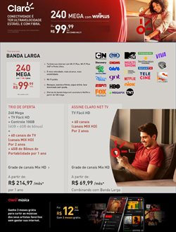 Ofertas Tecnologia e Eletrônicos no catálogo Net em Juazeiro ( 5 dias mais )