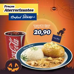 Promoção de Baked Potato no folheto de São Paulo