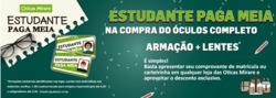 Promoção de Óticas Mirare no folheto de São Paulo