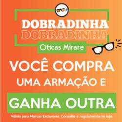 49ee57991 Promoção de Óticas e centros auditívos no folheto de Óticas Mirare em São  Paulo
