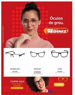 Ofertas Óticas no catálogo Óticas Diniz em Taboão da Serra ( 2 dias mais )