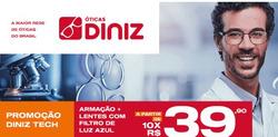 Cupom Óticas Diniz em Guarulhos ( 21 dias mais )