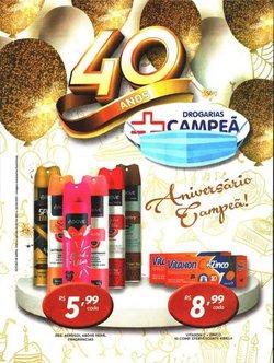 Ofertas Farmácias e Drogarias no catálogo Drogarias Campeã em Campinas ( Publicado ontem )