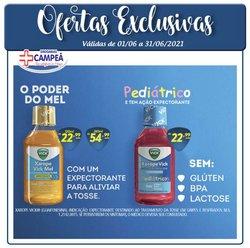 Ofertas de Drogarias Campeã no catálogo Drogarias Campeã (  15 dias mais)