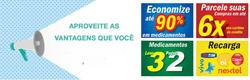 Promoção de Drogarias Campeã no folheto de São Paulo