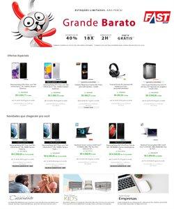 Ofertas Tecnologia e Eletrônicos no catálogo Fast Shop ( Válido até amanhã )
