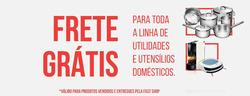 Promoção de Fast Shop no folheto de Recife