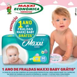 Promoção de Maxxi Econômica Farmácias no folheto de Porto Alegre