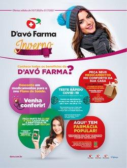 Ofertas de Farmácias e Drogarias no catálogo D'avó Farma (  6 dias mais)