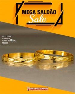 Ofertas Relógios e Joias no catálogo Casa das Alianças em São Bernardo do Campo ( 3 dias mais )