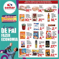 Ofertas de Semar Supermercado no catálogo Semar Supermercado (  Publicado hoje)