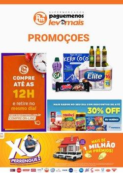 Ofertas de árvore de natal no catálogo Supermercados Pague Menos (  Publicado hoje)
