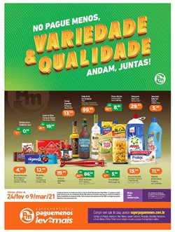 Catálogo Supermercados Pague Menos ( 7 dias mais )