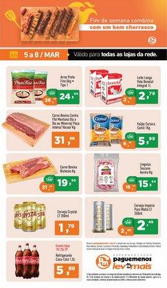 Catálogo Supermercados Pague Menos ( Válido até amanhã )