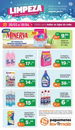 Catálogo Supermercados Pague Menos ( 8 dias mais )