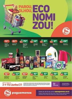 Catálogo Supermercados Pague Menos (  Vence hoje)