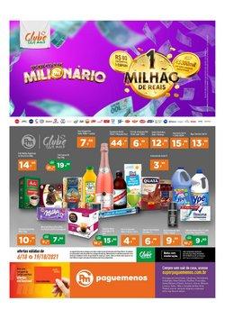 Ofertas de Supermercados no catálogo Supermercados Pague Menos (  Vence hoje)