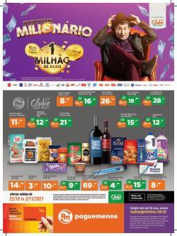 Catálogo Supermercados Pague Menos (  Publicado ontem)