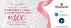 Promoção de Joalheria no folheto de Swarovski em Curitiba