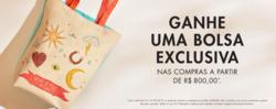 Promoção de Joalheria no folheto de Swarovski em São Paulo