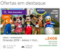 Promoção de Hotel Urbano no folheto de São Paulo