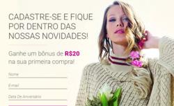 Promoção de Lucy in the Sky no folheto de São Paulo
