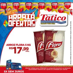 Ofertas de Tatico no catálogo Tatico (  Publicado hoje)