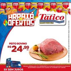 Ofertas de Supermercados no catálogo Tatico (  Publicado ontem)