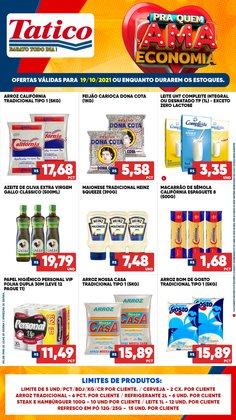 Ofertas de Supermercados no catálogo Tatico (  Vence hoje)