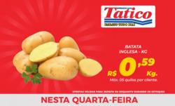 Promoção de Tatico no folheto de Goiânia