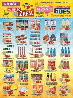 Catálogo Supermercados Goes ( Vence hoje )