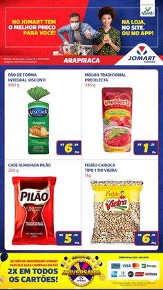 Ofertas de Supermercados no catálogo Jomart Atacado (  4 dias mais)