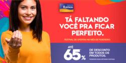 Promoção de Comercial Ramos no folheto de Salvador