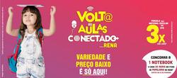 Promoção de Supermercados Rena no folheto de Itaúna