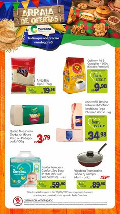 Ofertas de Supermercados no catálogo Covabra Supermercados (  Vence hoje)