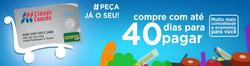 Promoção de Supermercados Cidade Canção no folheto de Alta Floresta