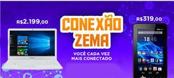 Promoção de Zema no folheto de São Paulo