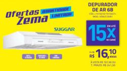 Promoção de Lojas de departamentos no folheto de Zema em Raul Soares
