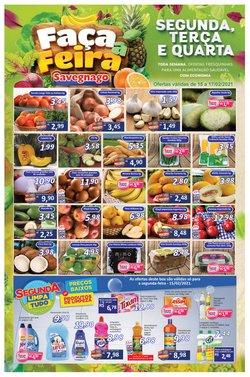 Catálogo Supermercados Savegnago em Limeira ( Vencido )