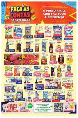 Ofertas Supermercados no catálogo Supermercados Savegnago em Ribeirão Preto ( Válido até amanhã )