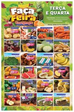 Ofertas de Supermercados Savegnago no catálogo Supermercados Savegnago (  Publicado ontem)