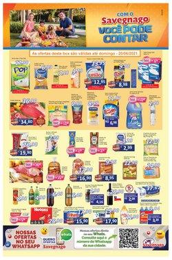 Ofertas de Supermercados Savegnago no catálogo Supermercados Savegnago (  4 dias mais)