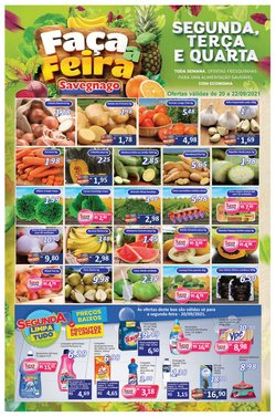 Ofertas de Supermercado Savegnago no catálogo Supermercado Savegnago (  Vencido)