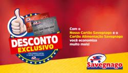Promoção de Supermercados Savegnago no folheto de Sumaré