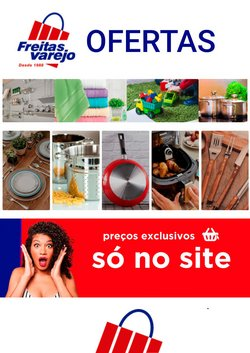 Ofertas Lojas de Departamentos no catálogo Freitas Varejo em São Gonçalo ( Publicado hoje )