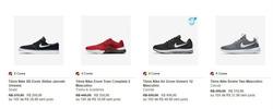 Promoção de Nike no folheto de Lauro de Freitas