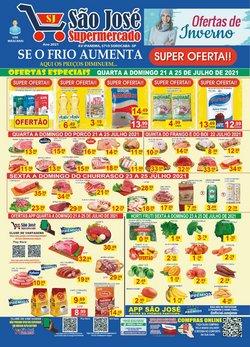 Ofertas de São José Supermercados no catálogo São José Supermercados (  Vence hoje)
