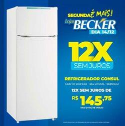 Catálogo Lojas Becker em Porto Alegre ( Vencido )